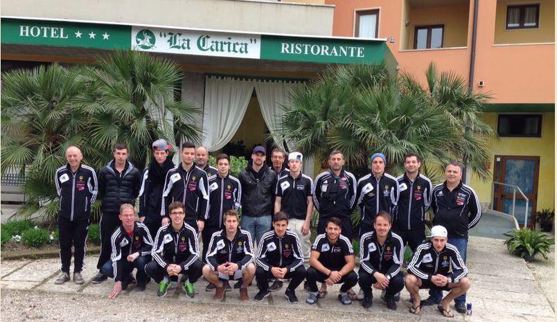 I.Mannnschaft Trainigslager Lago di Garda